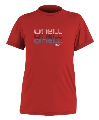 's Toddler Skins Short Sleeve Rash Guard T-Shirt by O'Neill Wetsuits ()