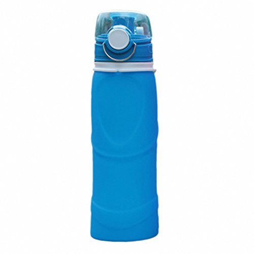 Valve Infusion - Water Bottles - Collapsible Silicone Water Bottle With Air Release Valve Camping And Hiking 26 Oz 750 Ml Fluid - Party Rose Dozen Toddler Stainless Safe Track Dance Infuser Bottles Carrier Ounce