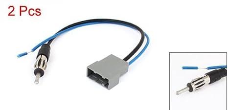 Amazon.com: 2pcs Radio DealMux Car Adapter Antena cabo de extensão: Electronics