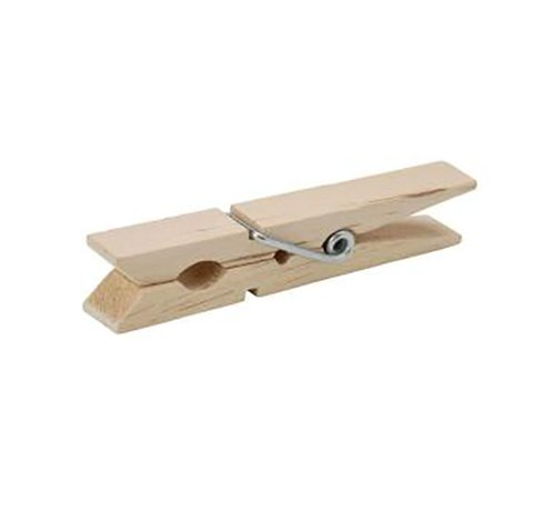 Clothespin 1 (Perfect Stix Clothespins -50ct Mini Wooden Clothespins, 1