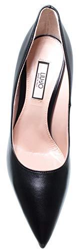 Noir Chaussures Marilyn Black Femmes Nappa 100 Decollete Cuir Decolletè Liu Jo Fwv5Pqq7