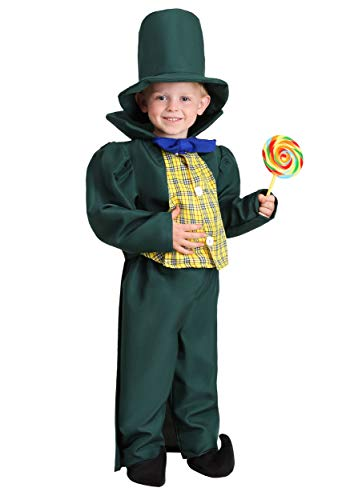 Big Boys' Munchkin Mayor Costume - M Green -