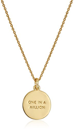 Kate Spade New York ''Kate Spade Pendants E Pendant Necklace, 17'' + 3.5'' Extender by Kate Spade New York (Image #2)