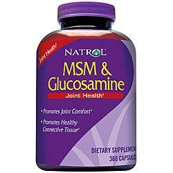 Natrol Msm And Glucosamine 360 cap ( Multi-Pack) by Natrol