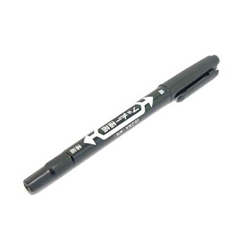 Gracefulvara 10PCS Tattoo Skin Marker Marking Pen Black