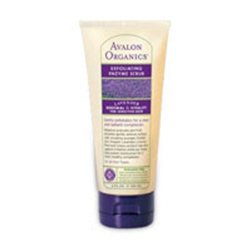 Avalon Organics Lavender Exfoliating Enzyme Scrub, 4 Ounce - 3 per case.