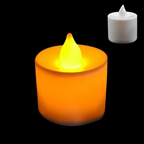 BATOP led Tea Candle Lamps Christmas Multicolor Simulation