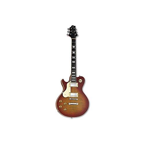 Samick Greg Bennett AV3LH Cherry Sunburst Finish 6-String Left-Handed Electric Guitar -  AV3LH-CS