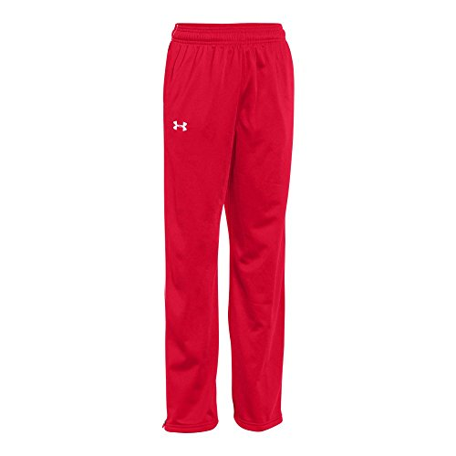 - Under Armour UA Rival Knit Warm-Up Pants YMD Red