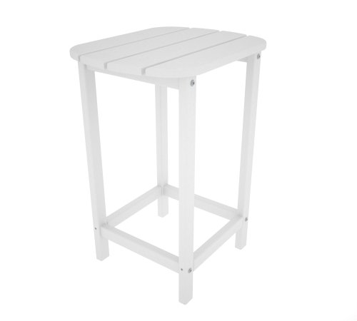 Cheap POLYWOOD SBT26WH South Beach 26″ Counter Side Table, White