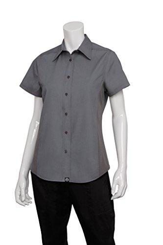 Chef Works Mens Universal Shirt, Gray, Medium