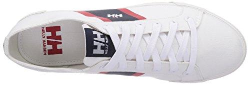 Helly Hansen Berge Viking Low, Zapatillas de Deporte Exterior para Hombre Blanco (White)