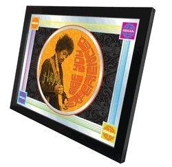Jimi Hendrix (AYE - Orange) 17'' x 22'' Mirror by Holland Bar Stool Company by Holland Bar Stool