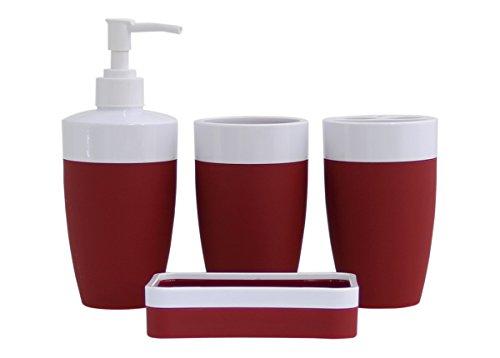 white 2 piece soap dish - 3