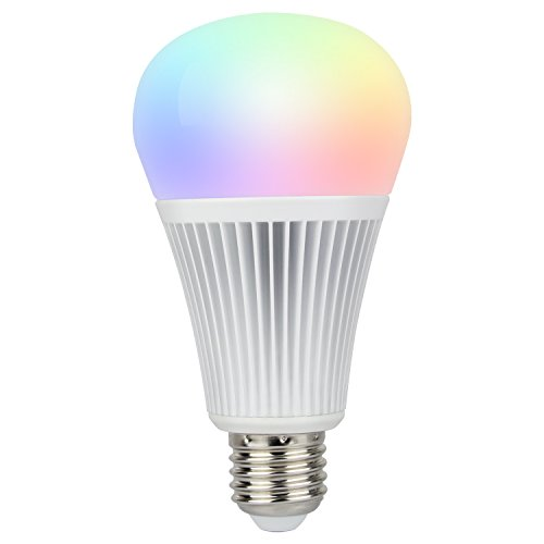 Mi Light Color Changing Light Bulb Dimmable Smart WiFi LED RGB+CCT 9 Watt E26 (9W E26/E27) For Sale