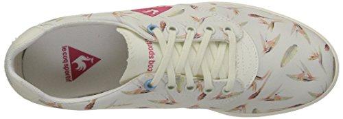 Le Coq Sportif Lamarina Bird Of Paradise - Zapatillas de deporte Mujer Blanco - Blanc (Marshmallow/Honeysuckle)