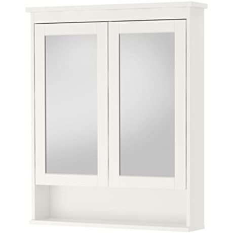 Ikea Mirror Cabinet With 2 Doors White 32 5 8x6 1 4x38 5 8