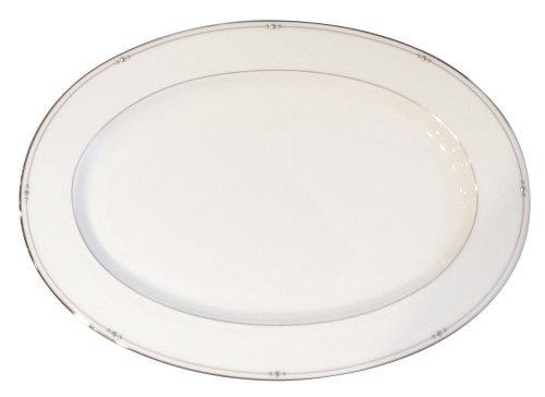 (Royal Doulton Precious Platinum 14-1/4-Inch Platter)