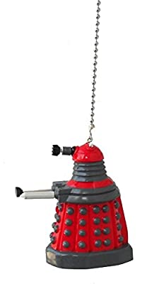 doctor Dr. Who character - CEILING Fan PULL light chain ornament