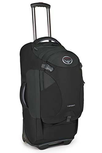Osprey Meridian Wheeled Luggage (28-Inch75 Liter Metal Grey)