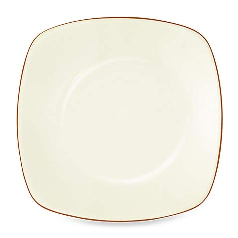 Plates Microwave Safe Noritake - Colorwave Square Dinner Plate in Terracotta - (10.75