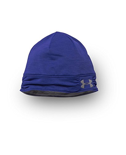 Under Armour Women's UA ColdGear Infrared Cozy Beanie One Size SIBERIAN IRIS - Coldgear Womens Beanie