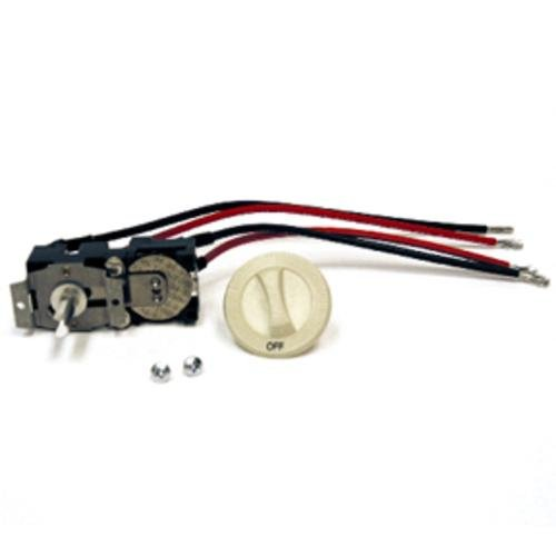 Cadet CTT2A Thermostat Kit 22A Double Pole Heat Only for Com-Pak Series - Almond ()