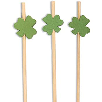 Party Tableware SHAMROCK ST PATRICK'S DAY IRISH FLAG PICKS 50 CANAPÉ FOOD CUPCAKE FLAGS! Home, Furniture & DIY