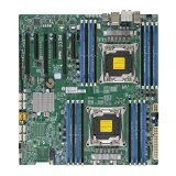Dual Motherboard - Supermicro Extended ATX DDR4 LGA 2011 Motherboard X10DAI-O