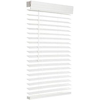 Amazon Com Bali Blinds 2 Quot Faux Wood Corded 39x64 Quot White