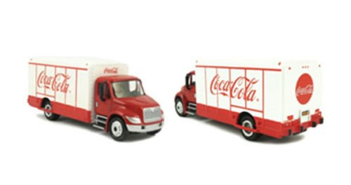 1:87 HO scale Coca Cola Beverage Truck by Motorcity Classics 870001