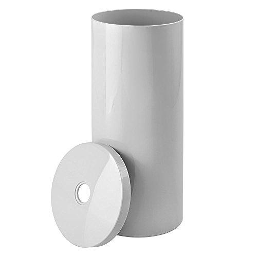 Mdesign Decorative Metal Free Standing Toilet Paper Holder