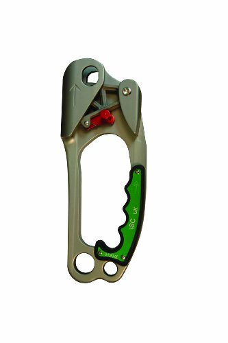 Elk River 19701 Right Handed Ascender Devices, 8-1/2'' Length x 3-1/4'' Height, Green by Elk River
