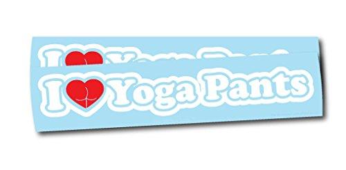 Luke Duke Decals I Love Yoga Pants 8