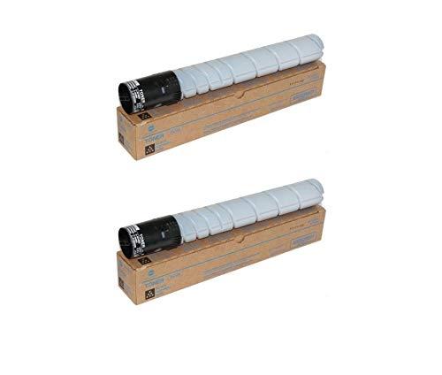 Konica Minolta A11G131 OEM Toner Cartridge 2 Pack, TN216K, 29000 Page-Yield Per Ctg, Black