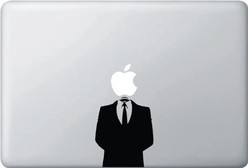 Yadda-Yadda Design Co. Anonymous Suit - (Variable Sizing Available) MacBook Vinyl Decal Sticker (17