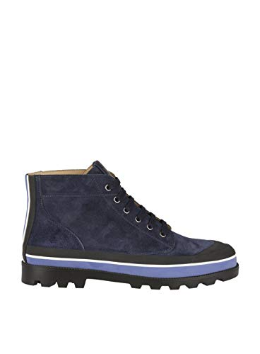 Valentino Garavani Men's Ny2s0966uvsm30 Blue Suede for sale  Delivered anywhere in USA