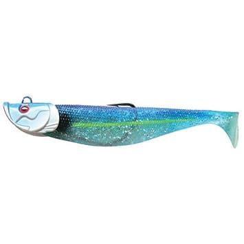 12 cm 15cm 10cm Flashmer Leurre Souple Blue Shad 8cm