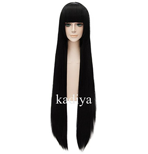Kadiya Straight Cosplay Costume Black product image