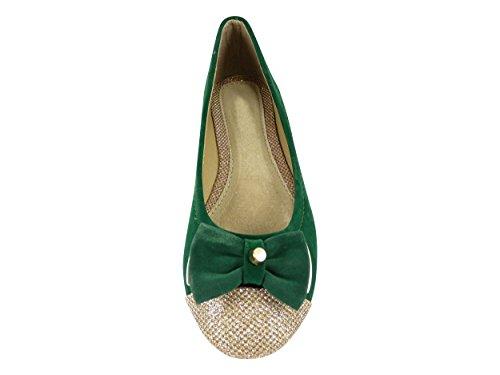 de Zapato vestir Chaussmaro Verde Mujer x7U4Xqg