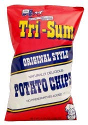 Tri-Sum Original Style Potato Chips, 6-Ounce Bags (Pack of 3)