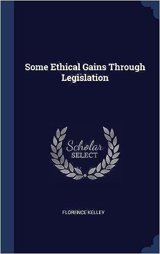 Book Some Ethical Gains Through Legislation