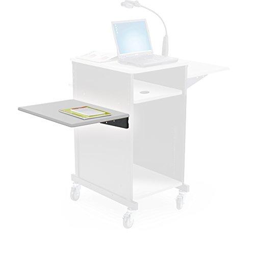 Balt Optional Shelf for Xtra Wide Presentation Cart - Gray