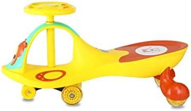 乗って車、いいえ電池、歯車またはペダルは、幼児のための、ジグザグカーを操縦するために、ウィグル運動を回し、キッズ、2歳までにツイストを使用します