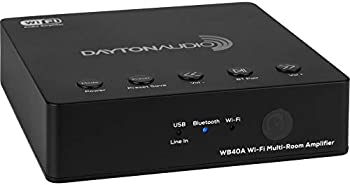 Dayton Audio Wi-Fi Bluetooth Multi-Room 2x20W Amplifier