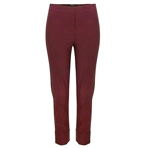 Pantalón Ajustado Robell Borgoña Mujer Para 0z51qng