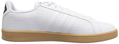 White Black Sneaker Advantage adidas Cf White Men's qxRYqtwI