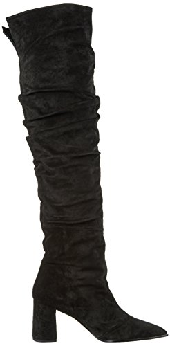 Paco Gil Dames P3166 Langstaart Slip Laarzen Zwart (black)