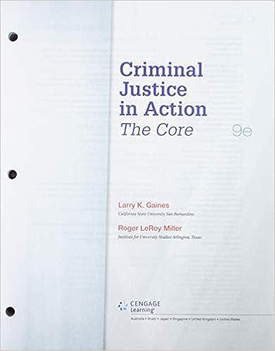 Bundle Criminal Justice In Action The Core Loose Leaf Version