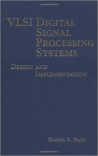 Amazon Com Vlsi Digital Signal Processing Systems Design And